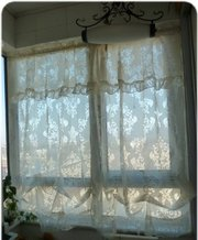 Elegant Baroque Adjustable Pull up Shade/curtain with Valance